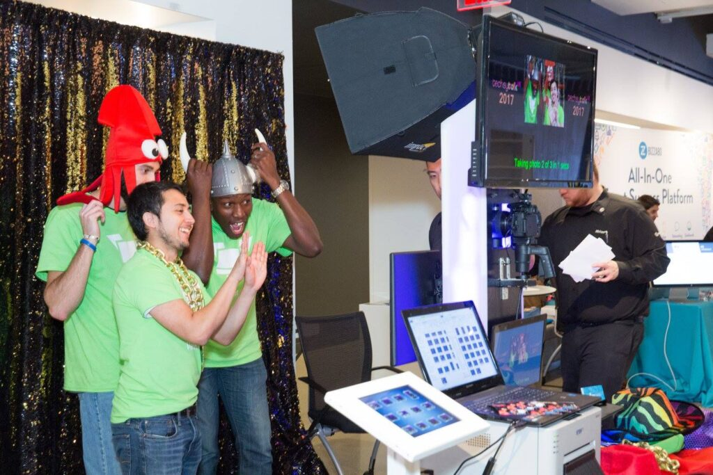 First time event planners can use experiences like photo booths to boost social media engagement