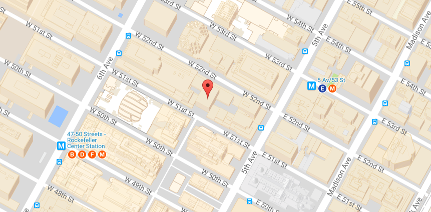 Map Of New York Rockefeller Center.How To Get To 75 Rockefeller Plaza Modern Office Spaces Meeting