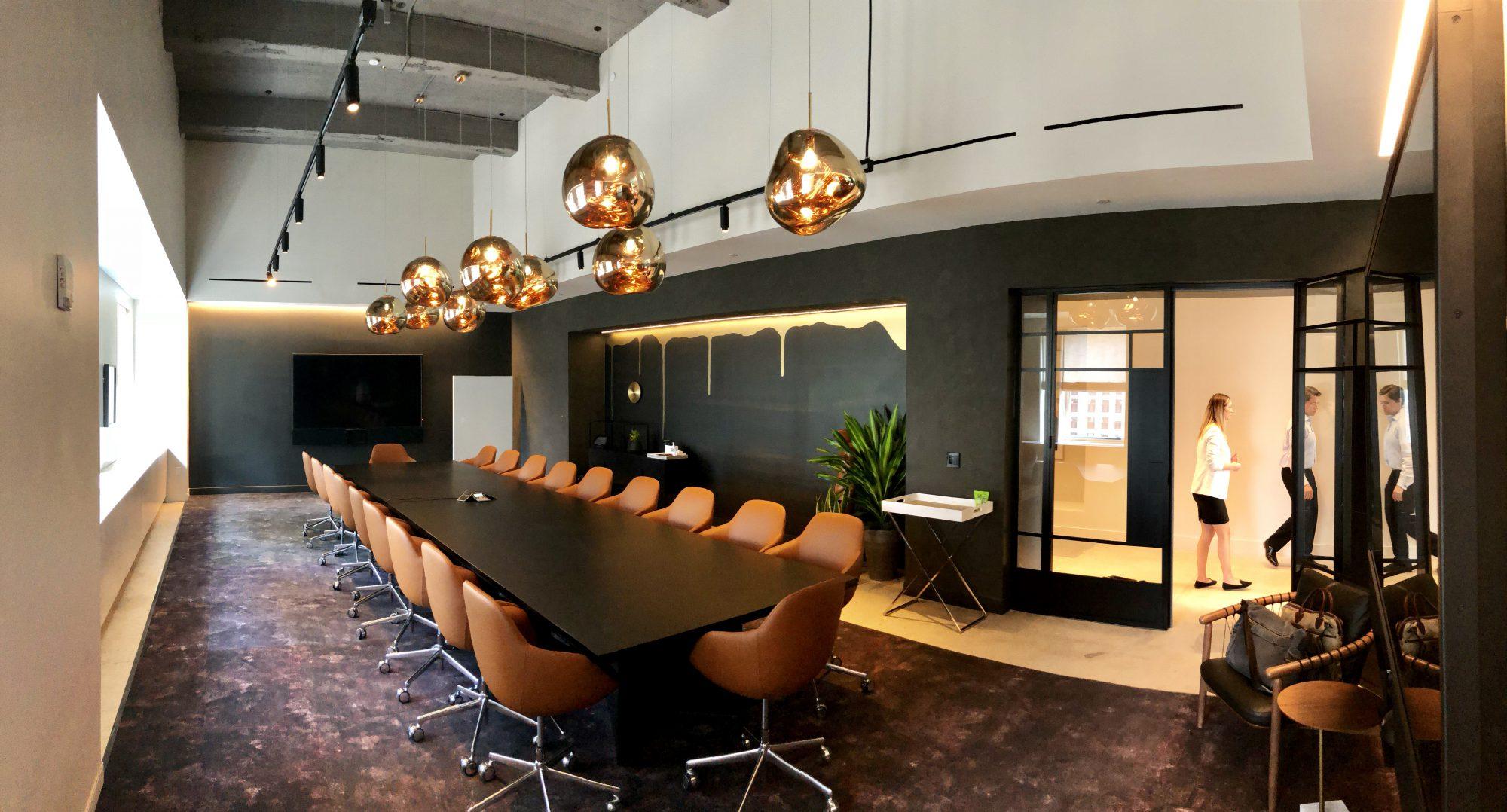 Meeting space in midtown Manhattan